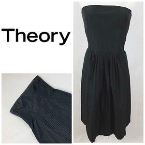 T h e o r y Honey 🍯 Strapless Dress 👗